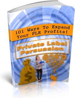 Private Label Persuasion PLR Ebook