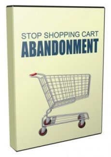 Stop Shopping Cart Abandonment Giveaway Rights Video With Audio