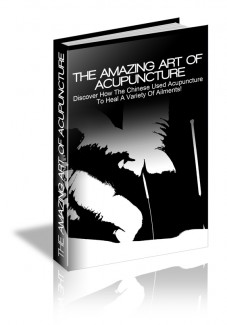 The Amazing Art Of Acupuncture MRR Ebook