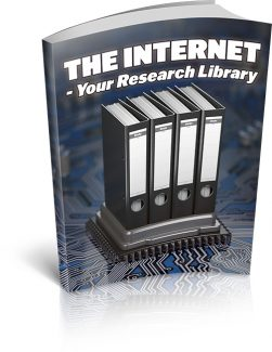 The Internet – Your Research Library MRR Ebook