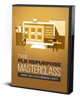 The Plr Repurpose Masterclass Resale Rights Video