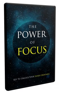 The Power Of Focus Video Upgrade MRR Video With Audio