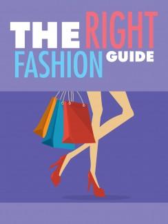 The Right Fashion Guide MRR Ebook