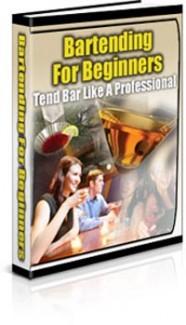 Bartending For Beginners PLR Ebook