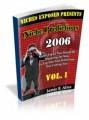 Niche Predictions 2006 Vol 1 PLR Ebook