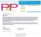 Peer 2 Peer Website Personal Use Template