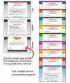 12 Minisite Templates Personal Use Template