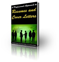 Resume And Cover Letters Plr Ebook