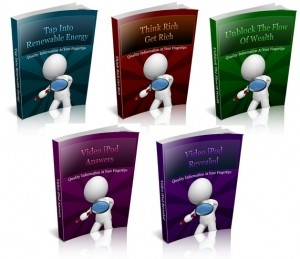 5 PLR EBooks Package V5 Plr Ebook