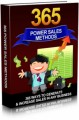 365 Power Sales Methods Give Away Rights Ebook