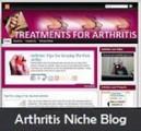 Arthritis Niche Blog Personal Use Template