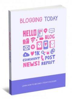 Blogging Today PLR Ebook