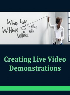 Creating Live Demonstrations PLR Ebook