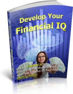 Develop Your Financial Iq PLR Ebook