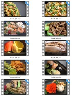 Food Stock Videos Five – V2 MRR Video