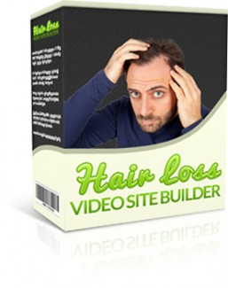 Hair Loss Video Site Builder Give Away Rights Software