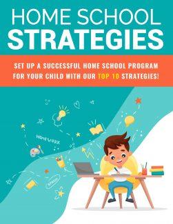 Home School Strategies PLR Ebook