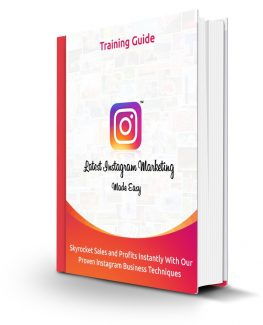 Latest Instagram Marketing Made Easy Personal Use Ebook