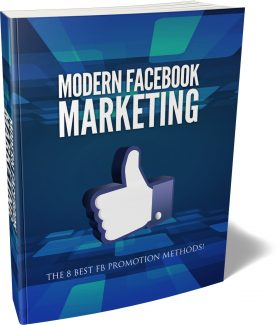 Modern Facebook Marketing MRR Ebook