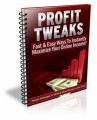 Profit Tweaks PLR Ebook