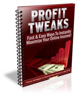 Profit Tweaks PLR Ebook