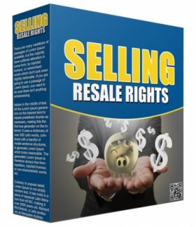 Selling Resale Rights PLR Audio