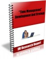 Time Management - Development And Strategy MRR Ebook