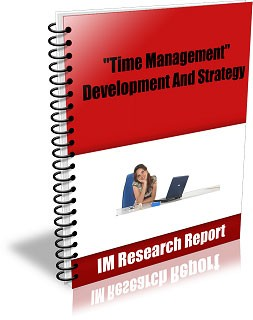 Time Management – Development And Strategy MRR Ebook