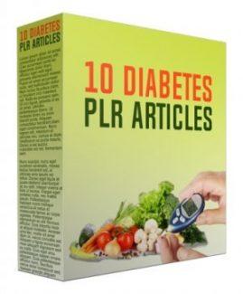 10 Diabetes PLR Article