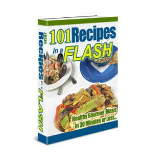 101 Recipes In A Flash Resale Rights Ebook
