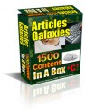 Articles Galaxies PLR Article