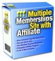 Multiple Memberships Site With Affiliate Plr Script