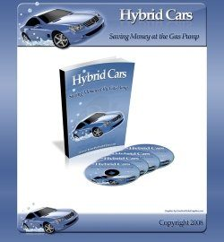 Hybrid Car Minisite Personal Use Template
