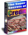 The Super Secrets Of Credit PLR Ebook