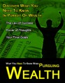 What You Need To Know When Pursuing Wealth PLR Ebook