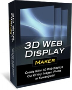 3D Web Display Maker Personal Use Template With Video