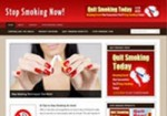 Stop Smoking Niche Blog Personal Use Template With Video