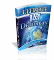 Ultimate IM Dictionary Mrr Ebook