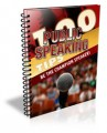100 Public Speaking Tips Give Away Rights Ebook