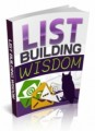 List Building Wisdom Plr Ebook