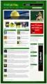 Tennis Blog Theme Plr Template