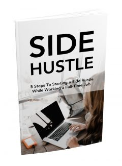 5 Steps To Starting A Side Hustle MRR Ebook With Audio