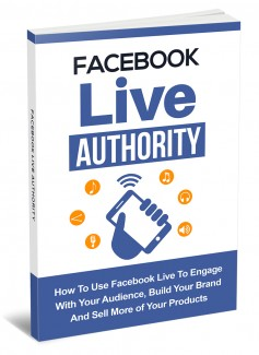 Facebook Live Authority MRR Ebook