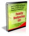 Family Budgeting 101 Newsletter PLR Autoresponder Messages