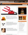 Halloween Niche Blog Personal Use Template With Video