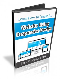 How To Set Up A Web Site Using Responsive Design PLR Video