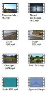 Lakes Water 4k Uhd Stock Videos Pt 1 MRR Video