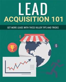 Lead Acquisition 101 PLR Ebook