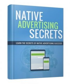 Native Advertising Secrets Personal Use Ebook