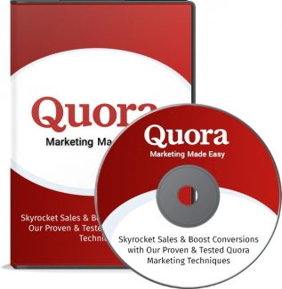 Quora Marketing Made Easy – Video Upgrade Personal Use Video With Audio